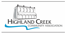 Highland Creek Community Association logo